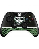 Boston Celtics Retro Palms Xbox One Controller Skin