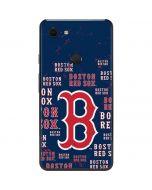 Boston Red Sox - Cap Logo Blast Google Pixel 3 XL Skin