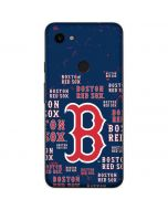 Boston Red Sox - Cap Logo Blast Google Pixel 3a Skin