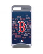 Boston Red Sox - Cap Logo Blast iPhone 8 Plus Cargo Case