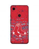 Boston Red Sox - Red Primary Logo Blast Google Pixel 3a Skin