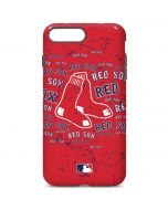 Boston Red Sox - Red Primary Logo Blast iPhone 7 Plus Pro Case