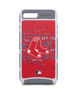 Boston Red Sox - Red Primary Logo Blast iPhone 8 Plus Cargo Case
