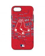Boston Red Sox - Red Primary Logo Blast iPhone 8 Pro Case