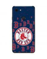 Boston Red Sox - Secondary Logo Blast Google Pixel 3 XL Skin