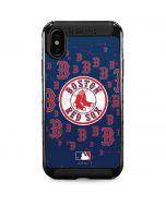 Boston Red Sox - Secondary Logo Blast iPhone XS Max Cargo Case