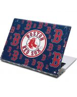 Boston Red Sox - Secondary Logo Blast Yoga 910 2-in-1 14in Touch-Screen Skin