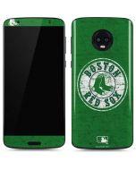 Boston Red Sox- Alternate Solid Distressed Moto G6 Skin