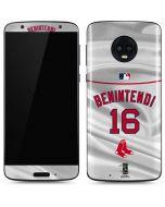 Boston Red Sox Benintendi #16 Moto G6 Skin