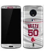 Boston Red Sox Betts #50 Moto G6 Skin