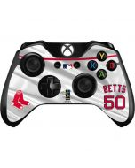 Boston Red Sox Betts #50 Xbox One Controller Skin