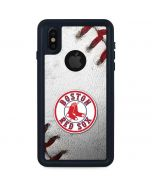 Boston Red Sox Game Ball iPhone X Waterproof Case