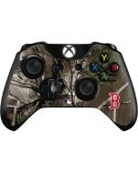 Boston Red Sox Realtree Xtra Green Camo Xbox One Controller Skin