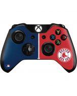 Boston Red Sox Split Xbox One Controller Skin