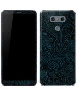 Botanical Flourish Blue LG G6 Skin