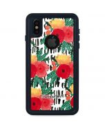 Bouquets Print 3 iPhone XS Waterproof Case