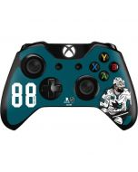 Brent Burns #88 Action Sketch Xbox One Controller Skin