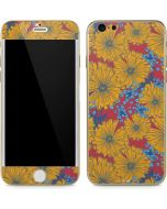 Bright Fall Flowers iPhone 6/6s Skin