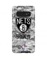 Brooklyn Nets Digi Camo Galaxy S10 Plus Pro Case