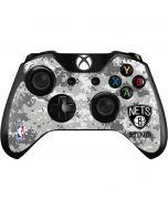 Brooklyn Nets Digi Camo Xbox One Controller Skin