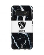 Brooklyn Nets Marble Galaxy S10 Plus Pro Case