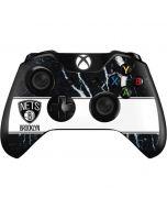 Brooklyn Nets Marble Xbox One Controller Skin