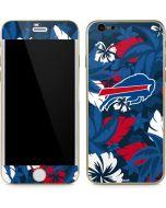 Buffalo Bills Tropical Print iPhone 6/6s Skin