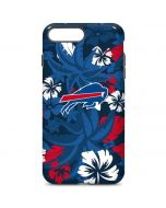 Buffalo Bills Tropical Print iPhone 7 Plus Pro Case