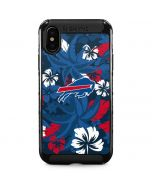Buffalo Bills Tropical Print iPhone XS Max Cargo Case