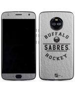 Buffalo Sabres Black Text Moto X4 Skin