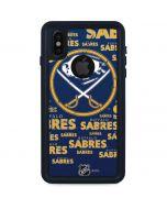 Buffalo Sabres Blast iPhone X Waterproof Case