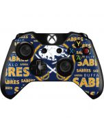 Buffalo Sabres Blast Xbox One Controller Skin