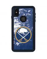 Buffalo Sabres Frozen iPhone XS Waterproof Case