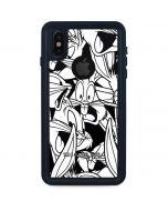 Bugs Bunny Super Sized Pattern iPhone XS Waterproof Case
