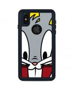 Bugs Bunny Zoomed In iPhone XS Waterproof Case