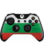 Bulgarian Flag Distressed Xbox One Controller Skin
