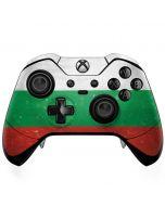 Bulgarian Flag Distressed Xbox One Elite Controller Skin