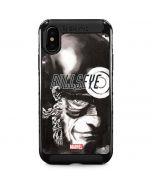 Bullseye Grunge iPhone XS Max Cargo Case