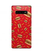 Burgers and Fries Galaxy S10 Plus Skin