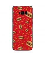 Burgers and Fries Galaxy S8 Plus Skin