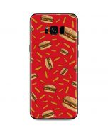 Burgers and Fries Galaxy S8 Skin