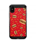 Burgers and Fries iPhone X Cargo Case