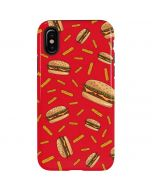 Burgers and Fries iPhone X Pro Case