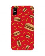 Burgers and Fries iPhone XS Max Lite Case