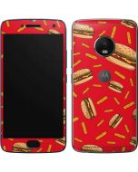 Burgers and Fries Moto G5 Plus Skin