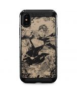 BW Superman Sketch iPhone XS Max Cargo Case
