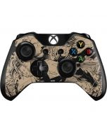 BW Superman Sketch Xbox One Controller Skin