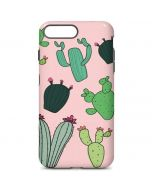 Cactus Print iPhone 7 Plus Pro Case