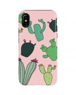 Cactus Print iPhone X Pro Case