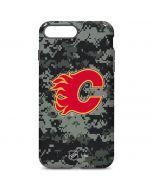 Calgary Flames Camo iPhone 7 Plus Pro Case